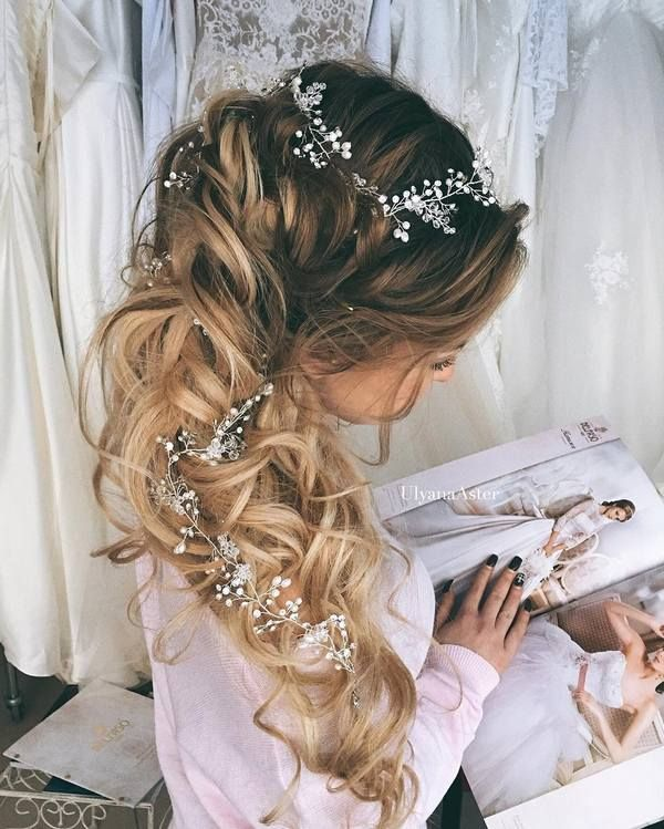 Gallery: Ulyana Aster Romantic Long Bridal Wedding Hairstyles_30 ❤ See more: w...