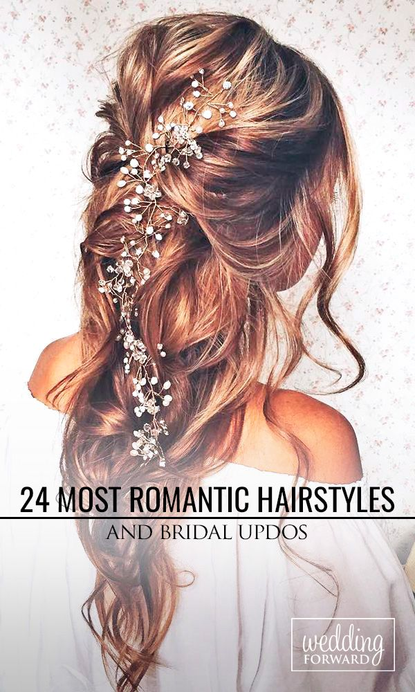 Wedding Hairstyles ❤ Whether you are looking for a long hairstyle, half up hal...