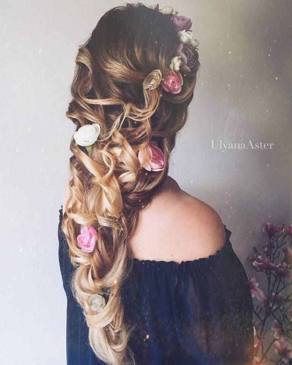 Wedding Updo Hairstyles for Long Hair from Ulyana Aster_04 ❤ See more: www.dee...