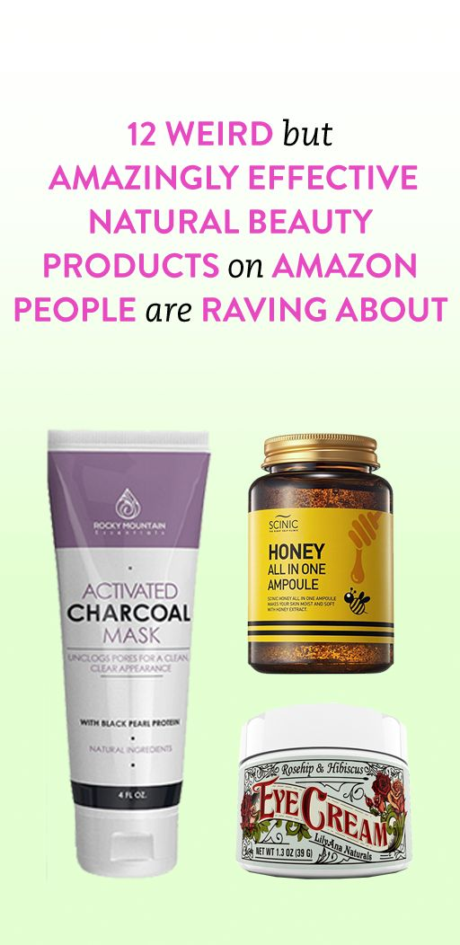 12 Weird But Amazingly Effective Natural Beauty Products on Amazon People Are Ra...