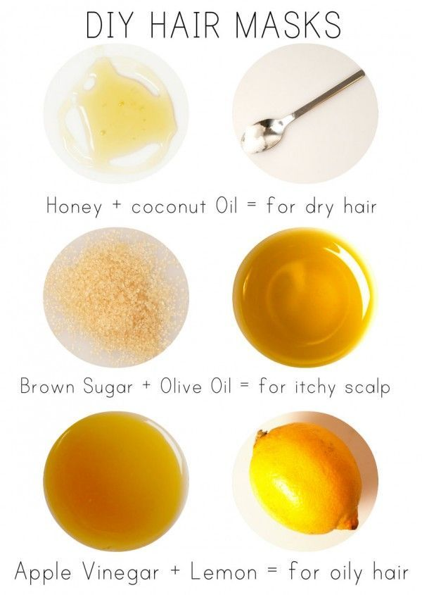 3 HAIR MASKS TO TRY AT HOME! For Dry Hair, Itchy or Flaky Scalp and Oily Hair :)...