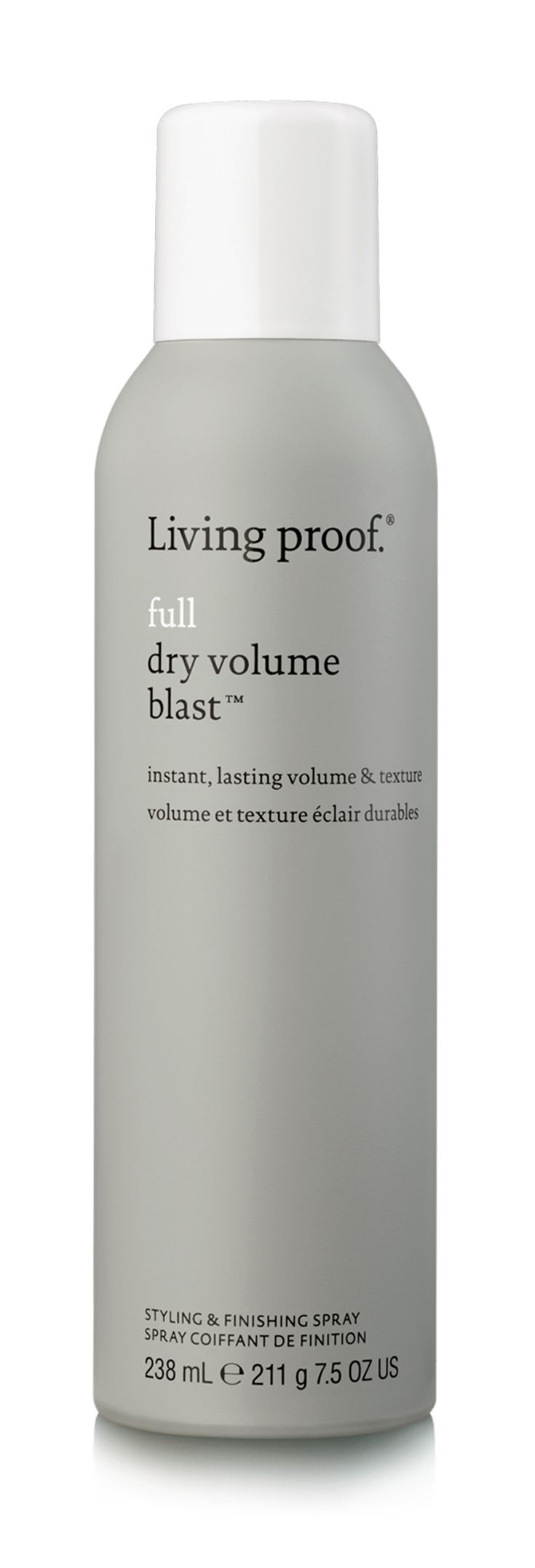 Living Proof Full Dry Volume Blast creates volume and texture that's (almost) ...