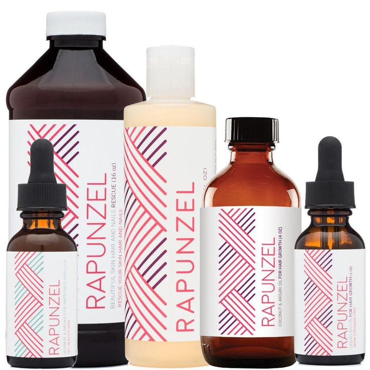 Starter Package For Better Skin, Hair and Nails - Includes 1 each of Rapunzel Li...