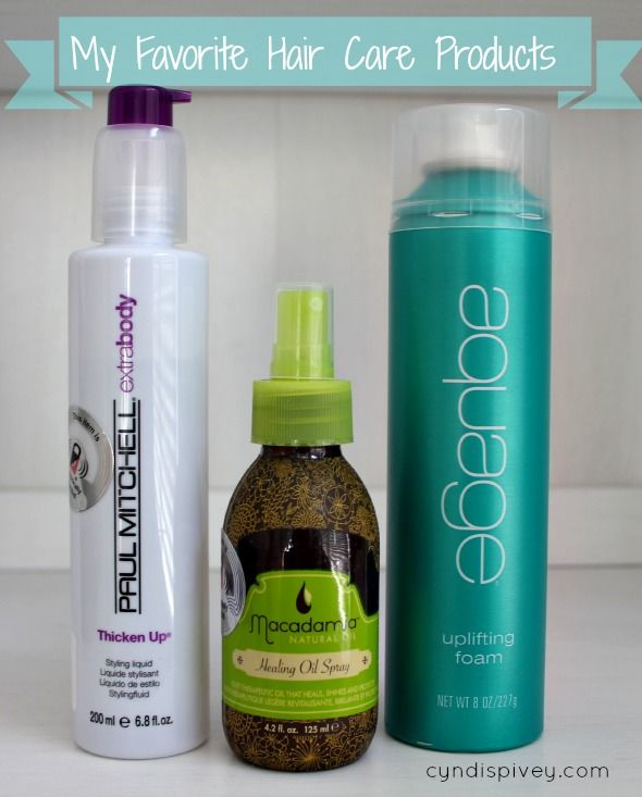 Today I'm sharing my favorite hair care products. I do change my hair care p...