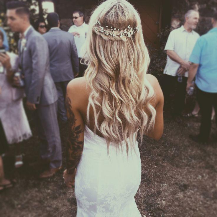 Half Up Half Down Wedding Hairstyles Wedding Hair Beauty
