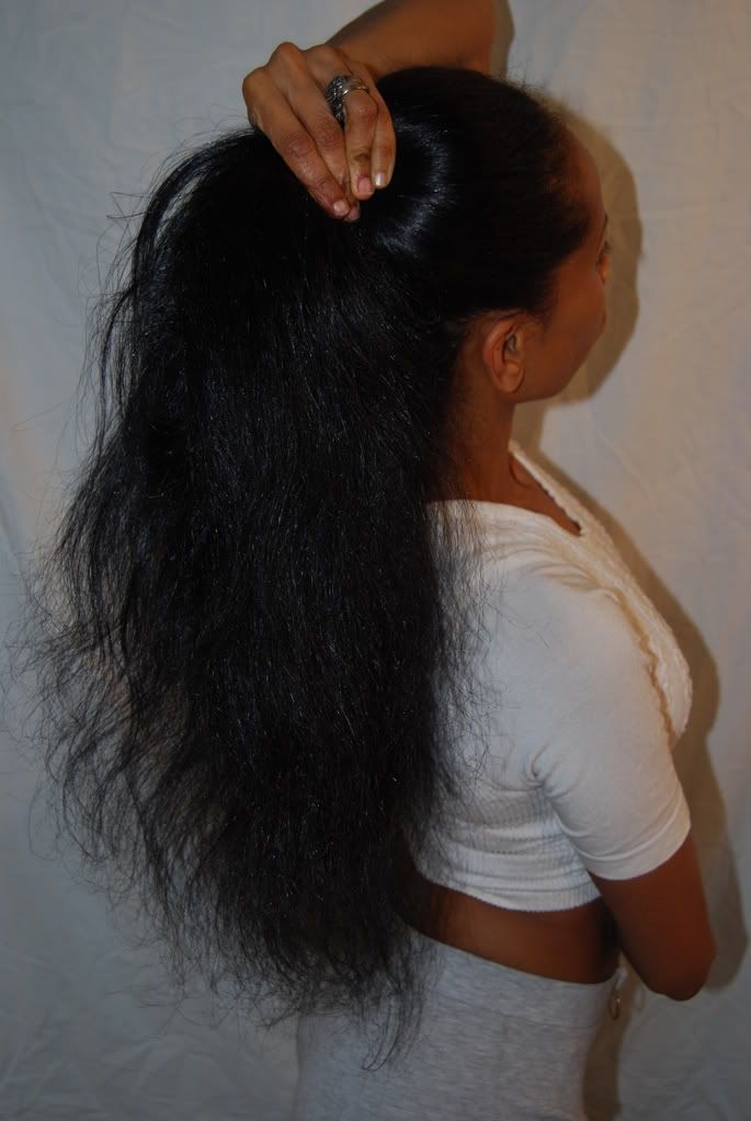My goal is to have waist length hair. [ Read the 10 steps to growing African Ame...