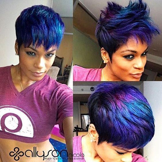 Dope Metallic Color @1girlabouthair - community.blackha...