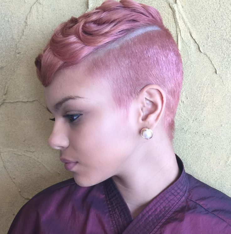 Short Haircuts Funky Pink Styled By Salonchristol Wordpress