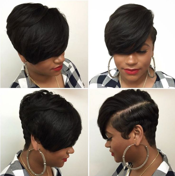 Short Healthy Hair style by @hairbylatise - community.blackha...