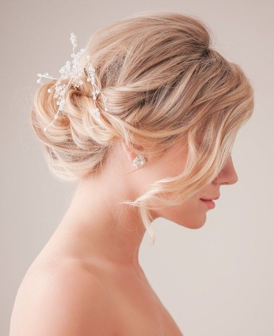 Trendy Haircuts Bridal Updo Hairstyle Tutorial Wedding