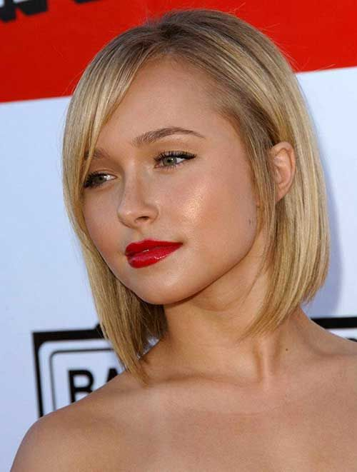 Short Haircuts For Chubby Faces   Latest Bob HairStyles   Page 4