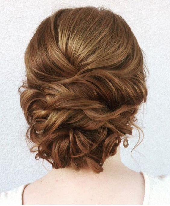 braided bun wedding updo /  www.himisspuff.co...