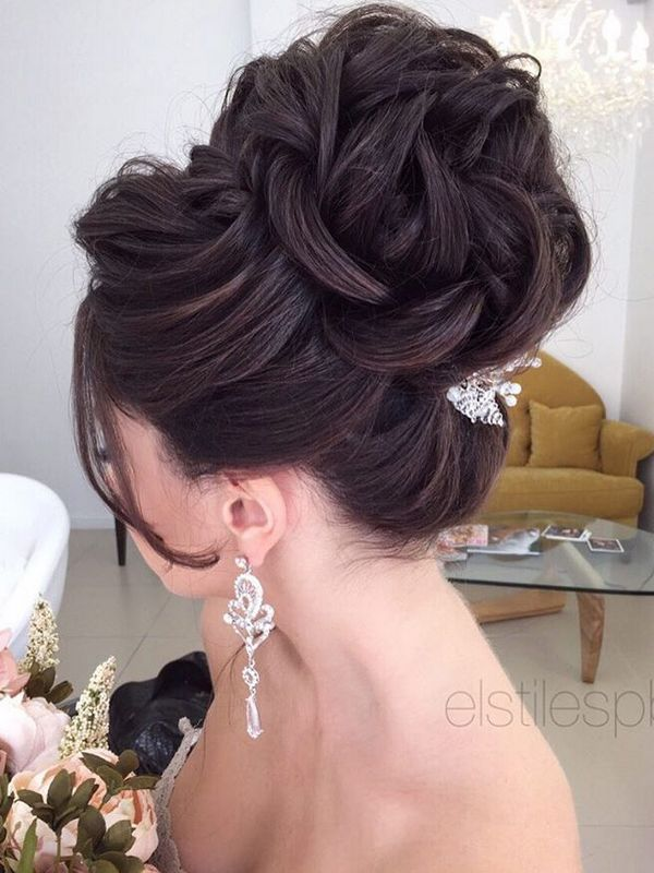 Elstile Long Wedding Hairstyle Ideas / www.deerpearlflow...