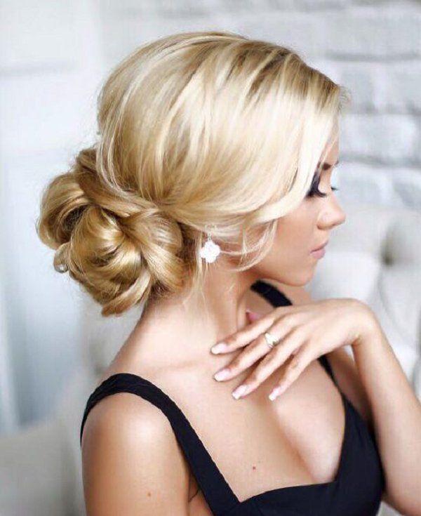 chic wedding hairstyle idea / www.deerpearlflow...
