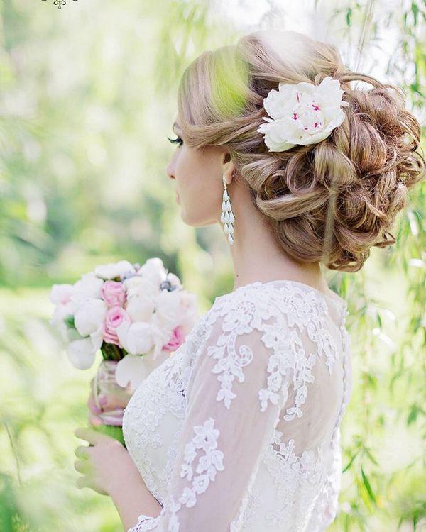 Gallery: Elstie Long Wedding Hairstyles and Wedding Updos 2 - Deer Pearl Flowers...