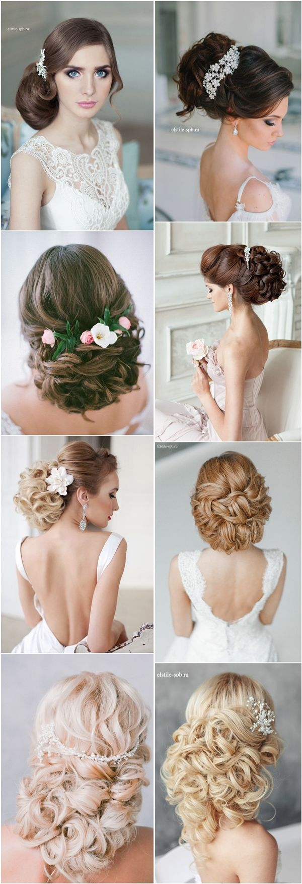 Gallery: long wavy wedding bridal hairstyle for long hair - Deer Pearl Flowers /...