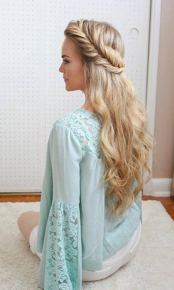 Wedding Hairstyles Long Wedding Prom Hairstyles Via Missysueblog Www