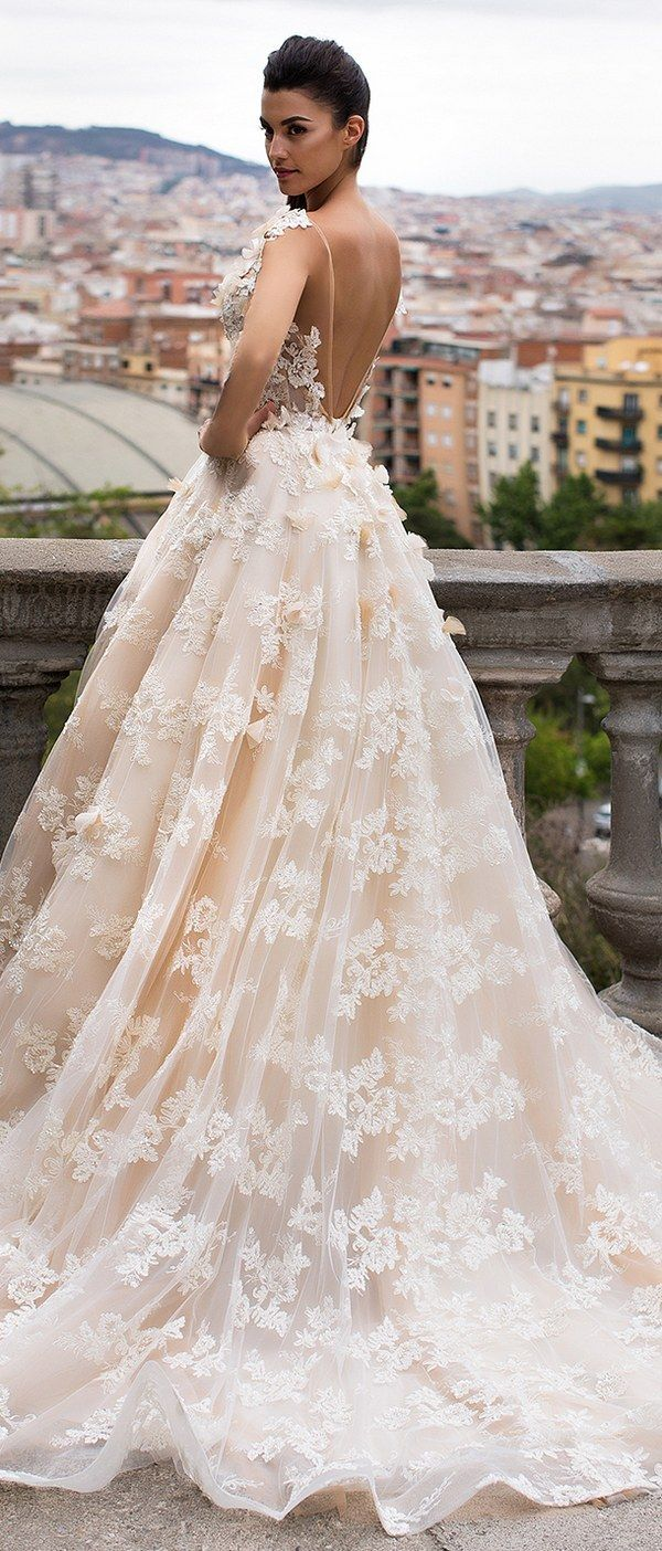 Milla Nova Bridal 2017 Wedding Dresses bella / www.deerpearlflow...