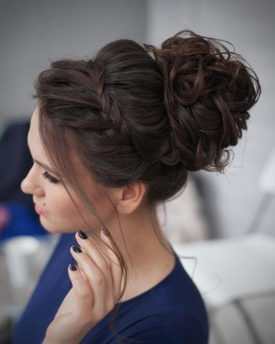 updo hairstyles for wedding / www.himisspuff.co...