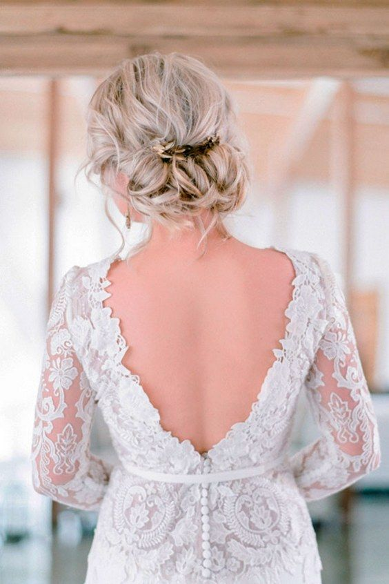 wedding updos hairstyles via rensche mari / www.himisspuff.co...