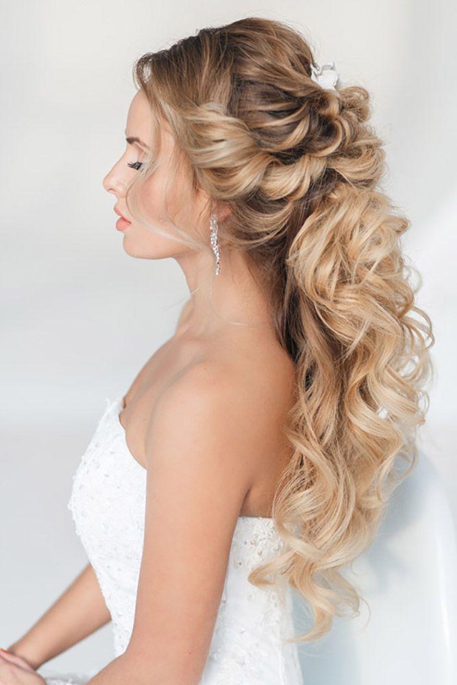 Bridal Hairstyles 24 Stunning Half Up Half Down Wedding Hairstyles
