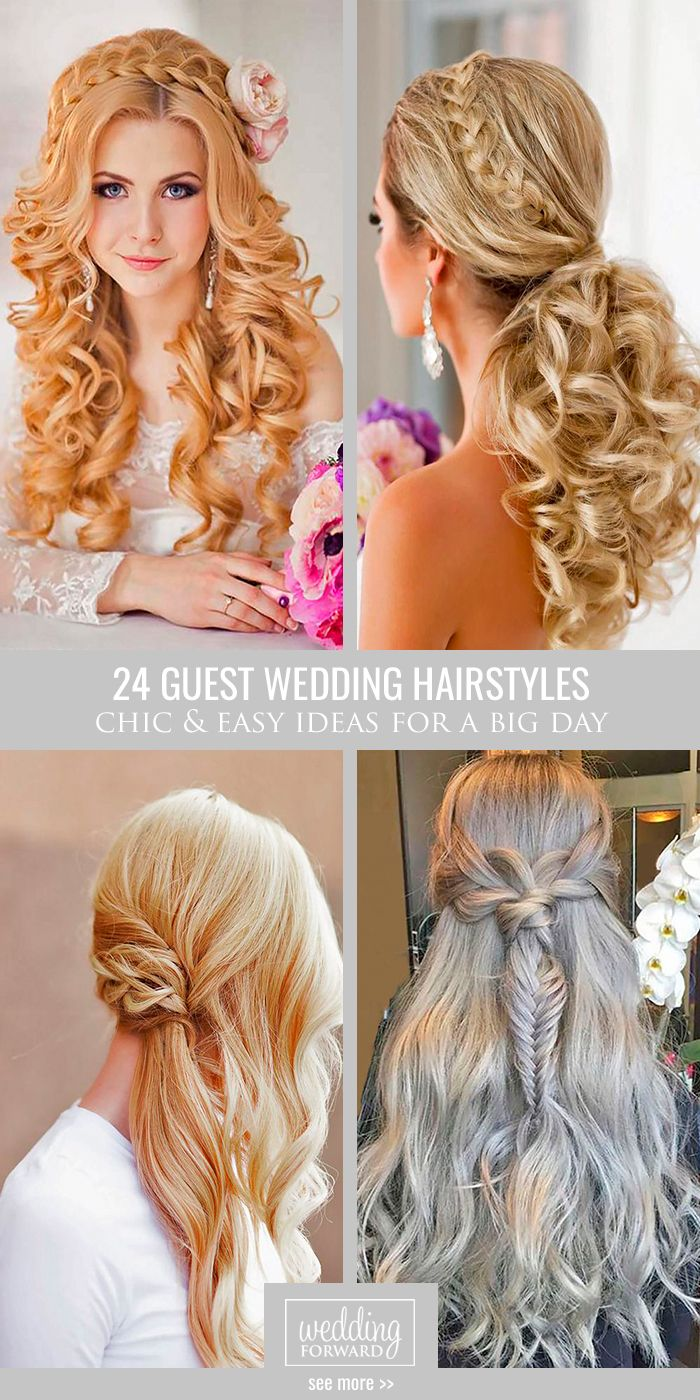 Bridal Hairstyles 24 Chic And Easy Wedding Guest Hairstyles