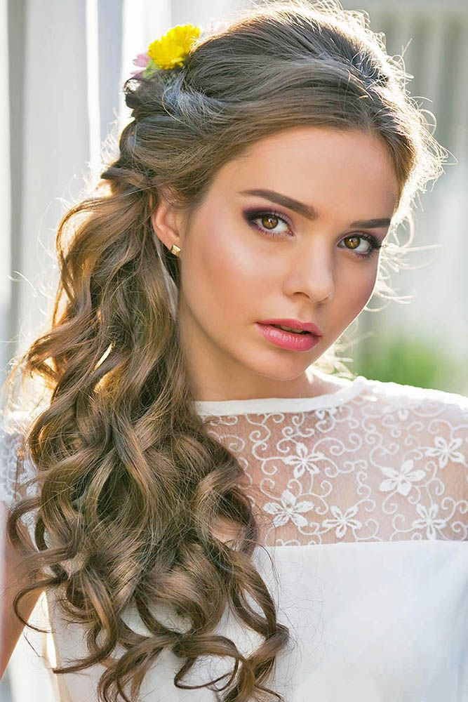 Bridal hairstyles 18 oh so perfect curly wedding hairstyles see 18 oh so perfect curly wedding hairstyles see more weddingforwar junglespirit Image collections