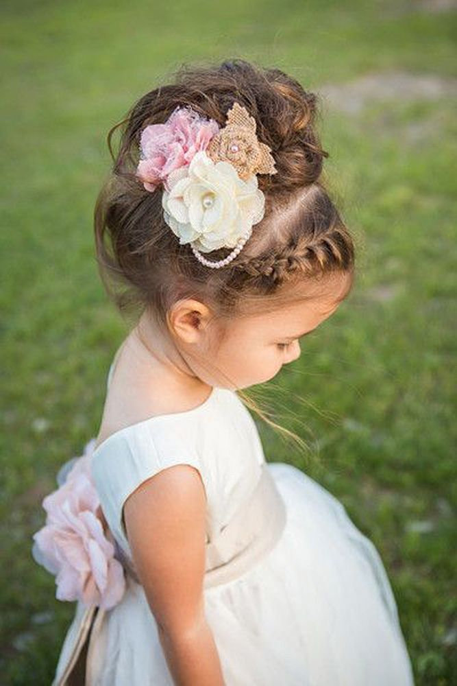Bridal Hairstyles : 18 Cute Flower Girl Hairstyles ❤ Here you find ...