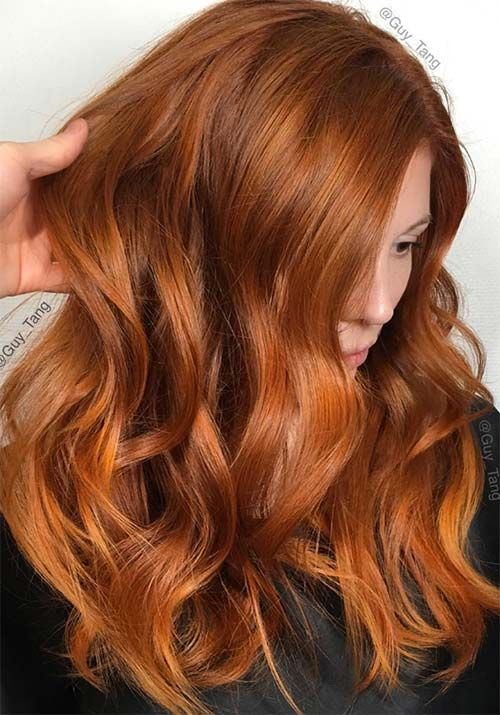 Red Hair Color 100 Badass Red Hair Colors Auburn Cherry Copper