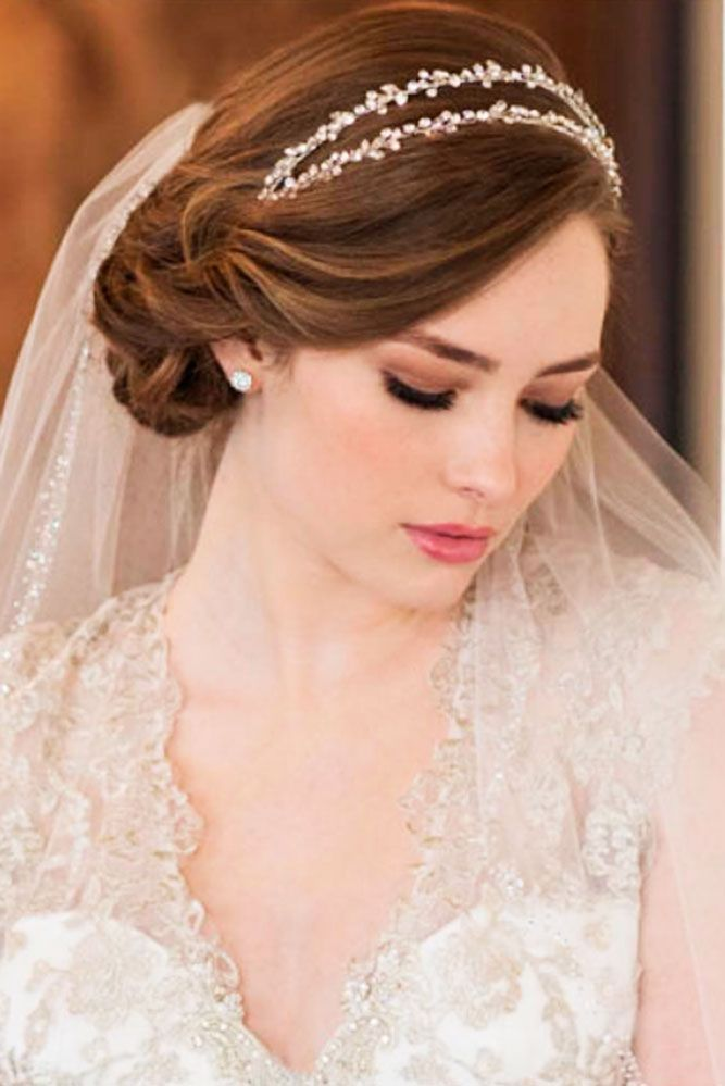 Bridal hairstyles 24 wedding hairstyles with veil beauty haircut 24 wedding hairstyles with veil junglespirit Image collections