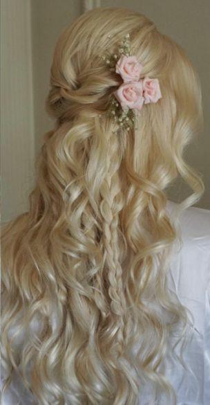 Featured Hairstyle: Heidi Marie Garrett - Hair and Makeup Girl; Wedding hairstyl...