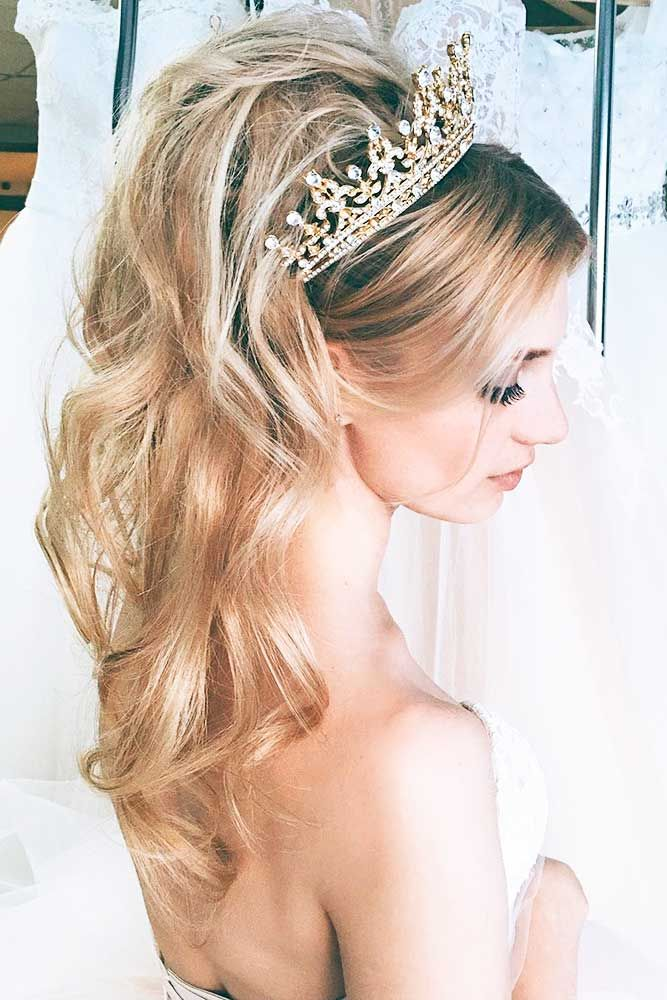 24 Stylish Easy Wedding Hairstyles ❤ You can choose stylish easy wedding hairs...
