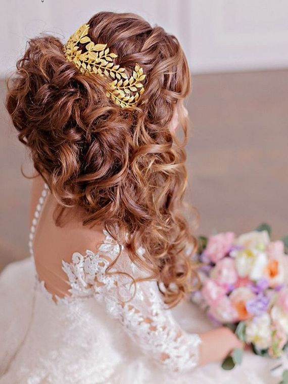 Bridal Hairstyles : Long wedding hairstyles and wedding updos from ...
