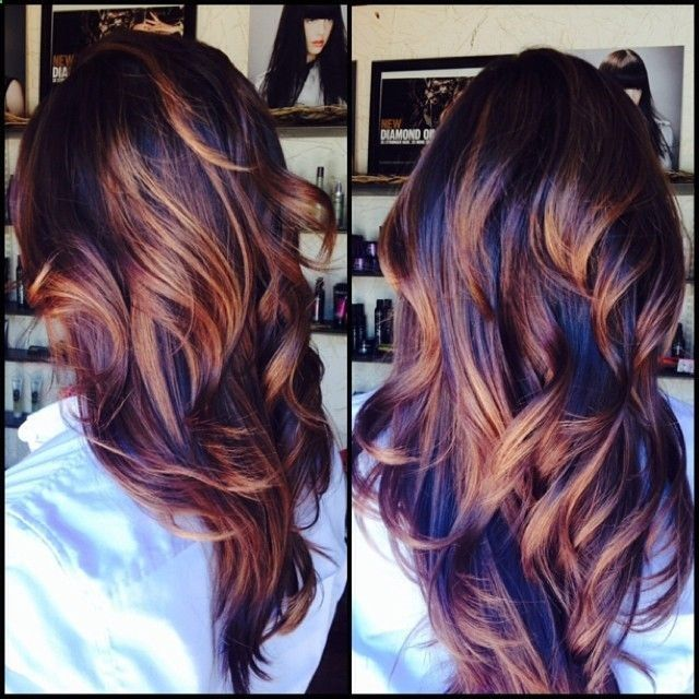 Trendy Hair Color Highlights Beautiful Color Beauty Haircut
