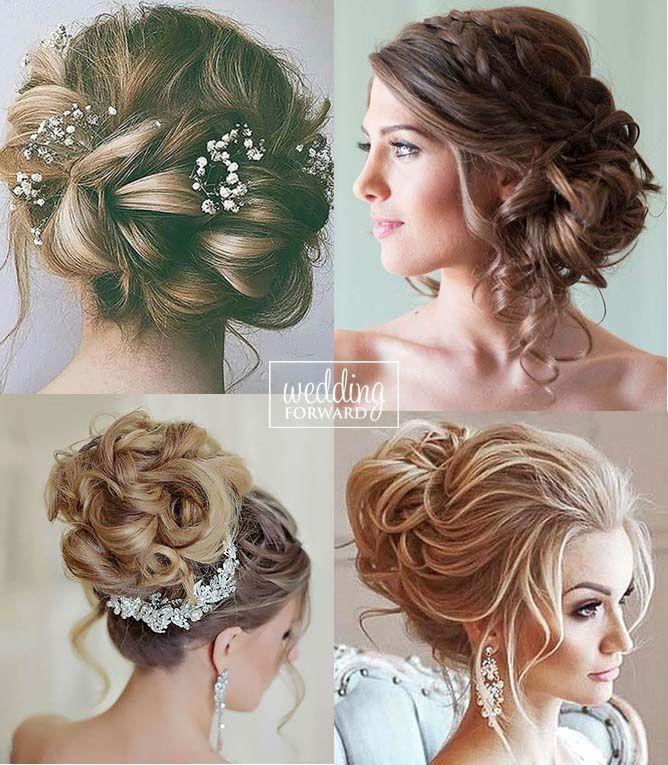 Bridal Hairstyles 30 Most Romantic Bridal Updos Wedding