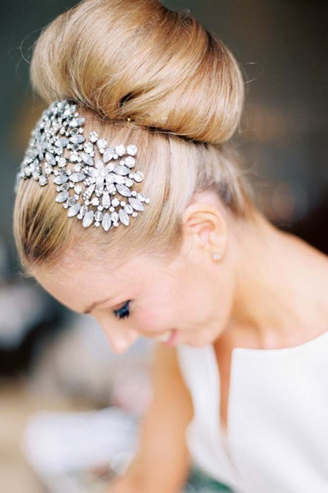 18 Bridal Hair Accessories To Inspire Your Hairstyle ❤ Hair accessories let yo...