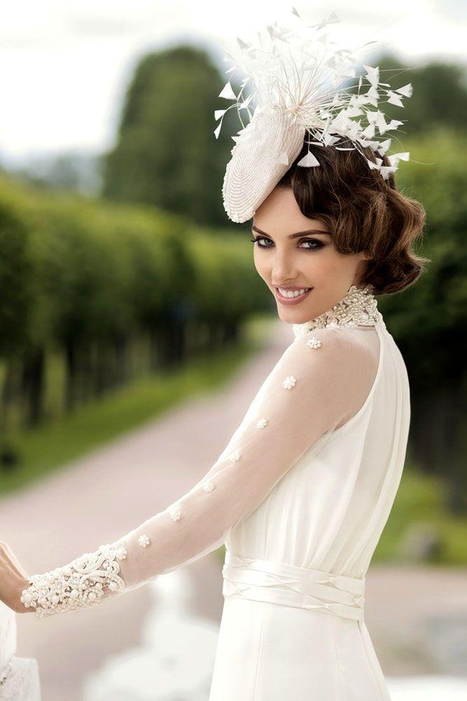 18 Incredible Wedding Hats That Make You Unique ❤ See more: www.weddingforwar....