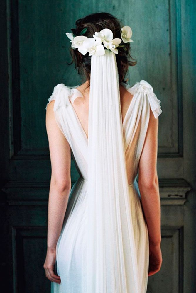 24 Wedding Hairstyles With Veil ❤ We picked up wedding hairstyles with veil fo...