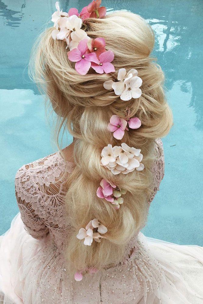 30 Gorgeous Blooming Wedding Hair Bouquets ❤ See more: www.weddingforwar... #w...