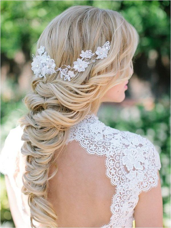 Elegant and Classic Bridal Wedding Hairstyles / www.deerpearlflow...