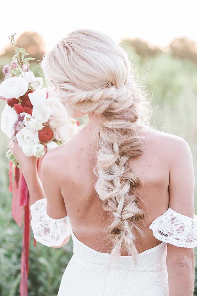 Gallery: braided wedding hairstyle ideas via noblephotographers - Deer Pearl Flo...