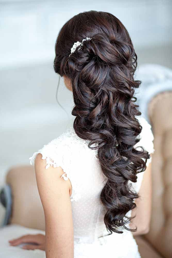 Gorgeous wedding hairstyles for the big day. Weather you are looking for a Half ...