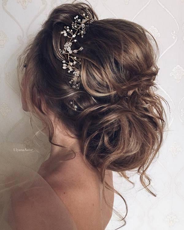 Ulyana Aster Romantic Long Bridal Wedding Hairstyles_29 ❤ See more: www.deerpe...