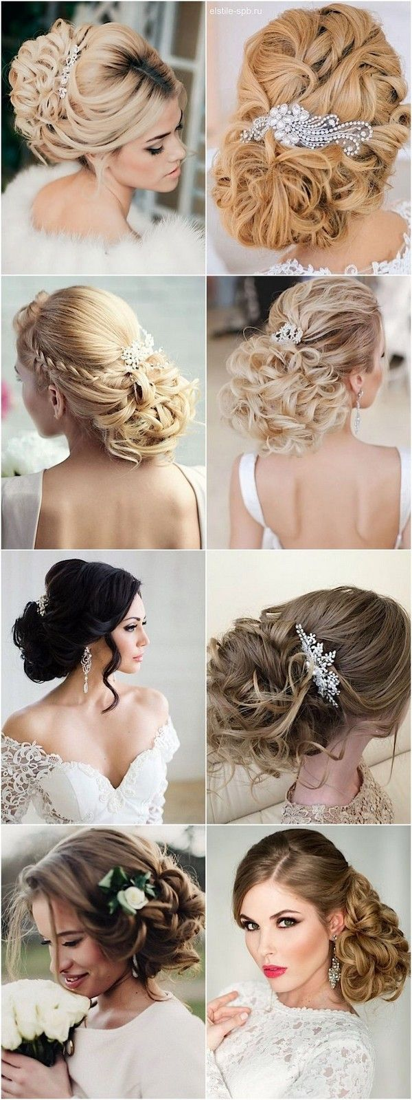 Wedding Hairstyles with Chic Updos / www.himisspuff.co...