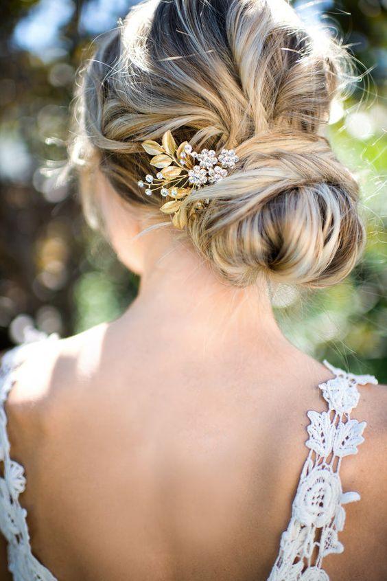 Bridal Hairstyles Updo Wedding Hairstyle Via Lottiedadesigns