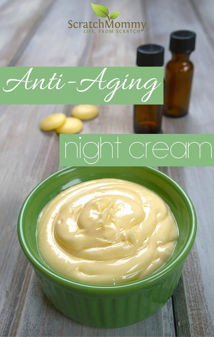 Anti-Aging Night Cream DIY Recipe (easy and effective with some super powerful s...