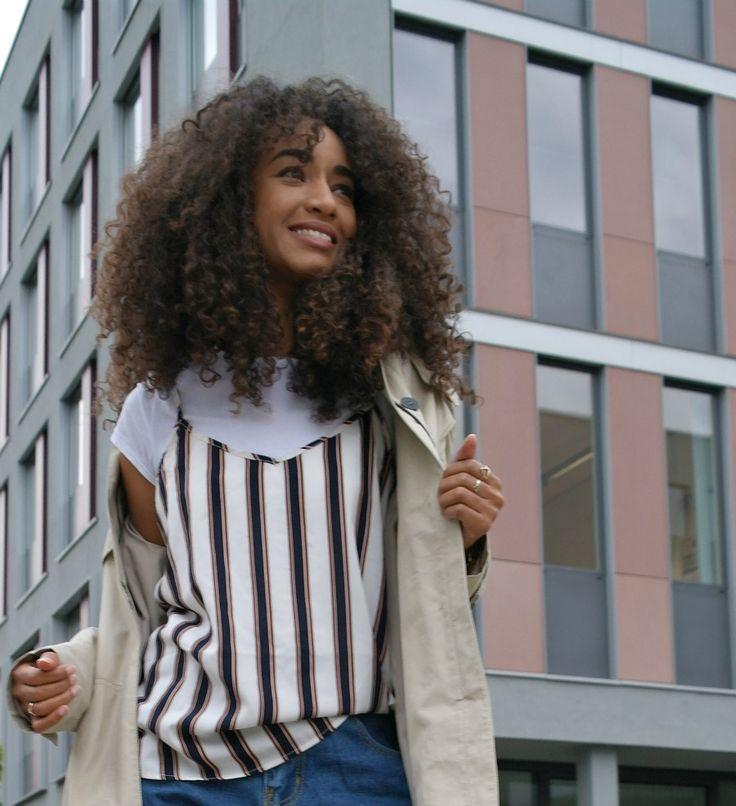 Bang Curly Hair, Franja Cacheada