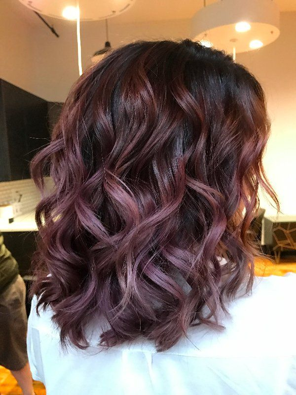 Hair Care Ideas Chocolate Mauve Is The Delicious New Color Trend You