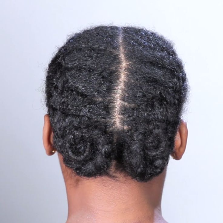 Double French Braids (For Natural Hair)