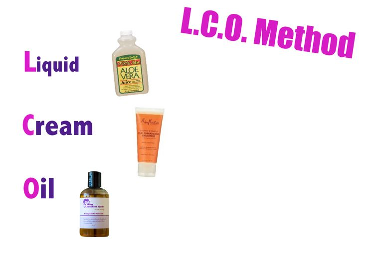 The L.C.O. method is preferred by many ladies who have low porosity hair.